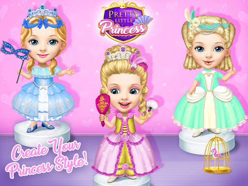 Pretty Little Princess - Dress Up, Hair & Makeup apkpoly screenshots 11