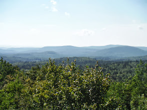 Photo: Day 53 August 10 Bennington  To Brattleboro VT: Hogback Mt 100 Mile view