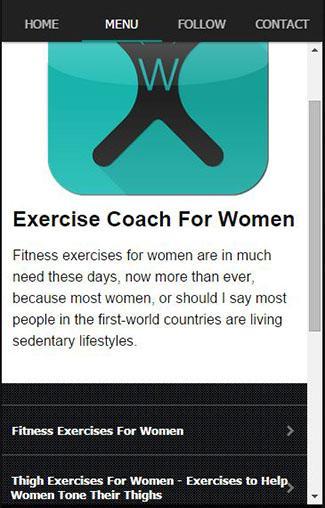 女性のためのエクササイズコーチ