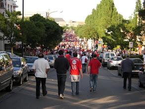 Photo: Op weg naar het Koning Boudewijn stadion voor de finale van de Beker van België 2011 ......