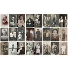 Tim Holtz Idea-Ology Found Relatives Cards 3X5 24/Pkg