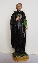 Photo: Figurka gipsowa, wys. 18 cm. Sygnowana z tyłu: K. PIFAN LT CZĘSTOCHOWA.