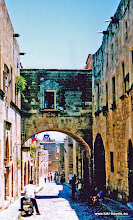 Photo: 2001-06-26. Rhodos oude stad | Rhodes old city.  www.loki-travels.eu