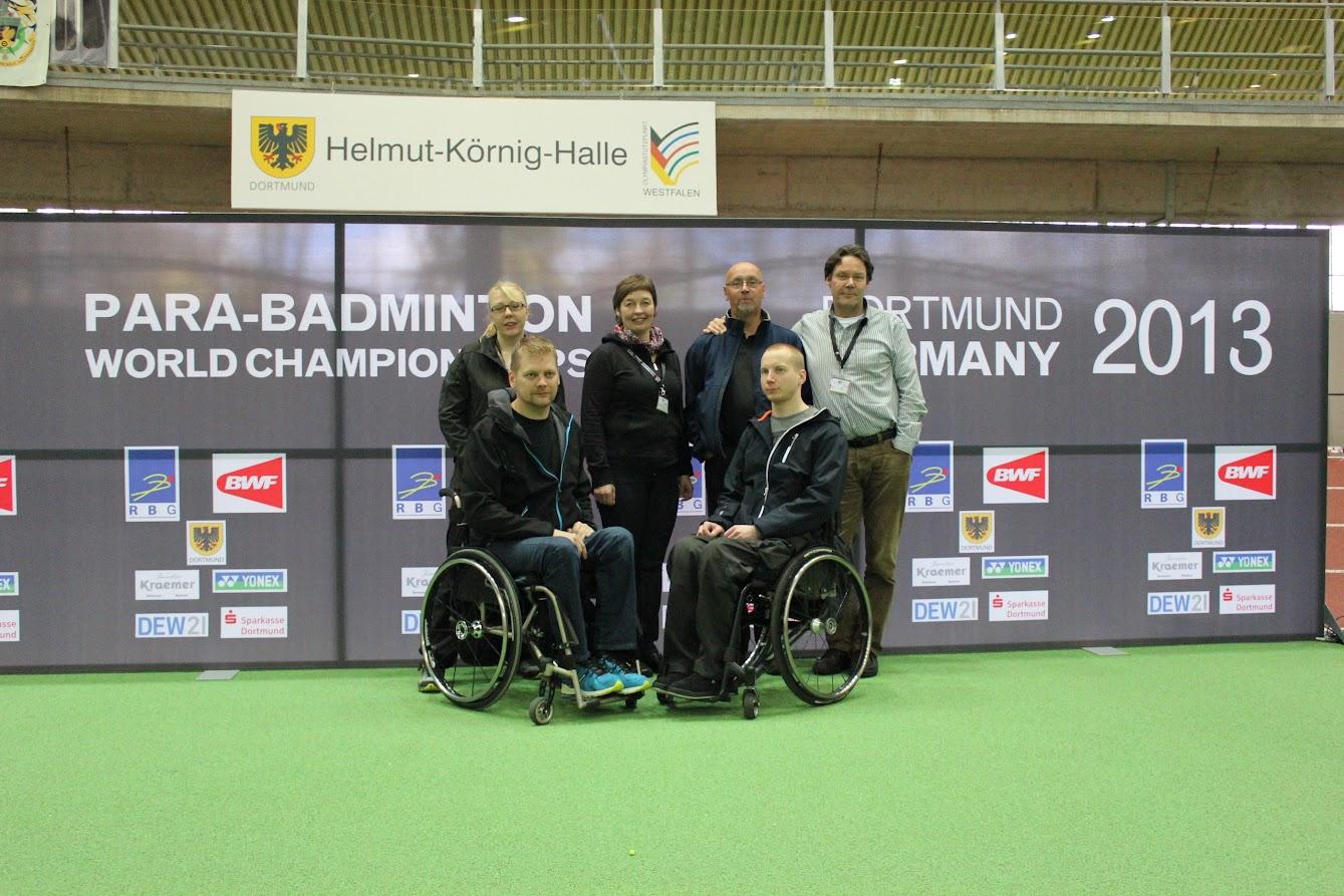 Vammaissulkapallon MM-kisat Saksassa 2013