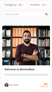 MentorBox- screenshot thumbnail