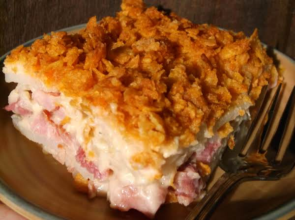 Ham And Potato Casserole Just A Pinch Recipes