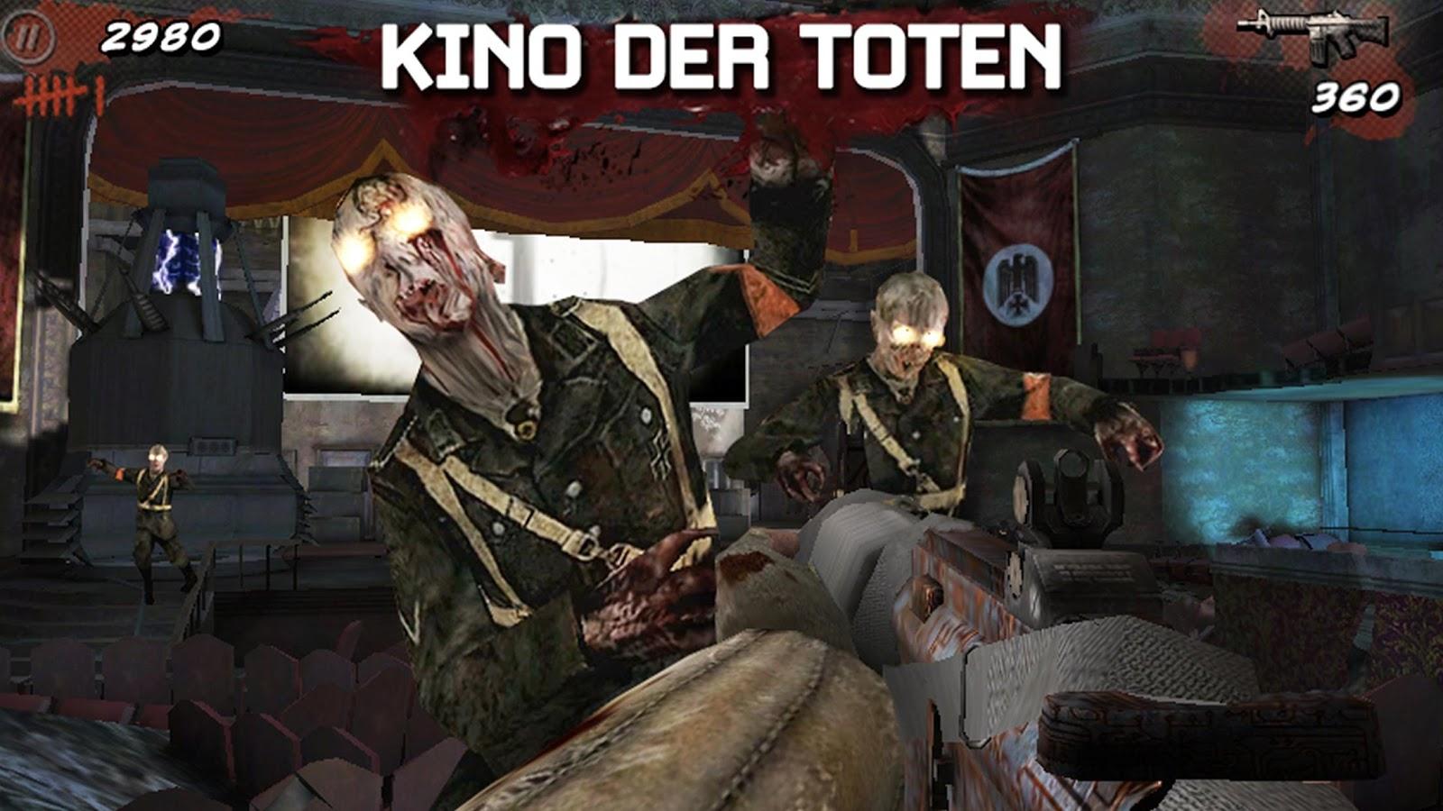 Call of Duty:Black Ops Zombies- tangkapan layar