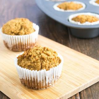 Grain Free Pear Flax Muffins.