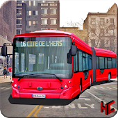 Drive City Metro Bus Simulator: Bus games