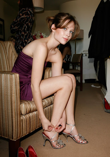Teen Girl In High Heels