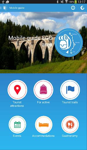 Mobile guide EGO area