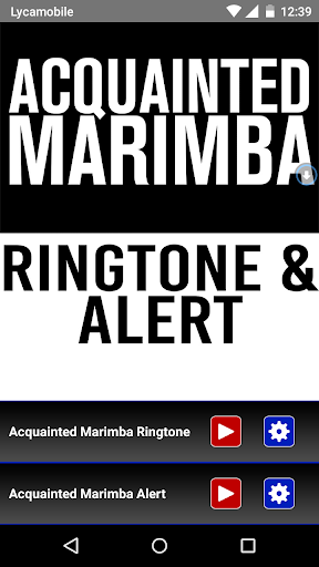 Acquainted Marimba Ringtone