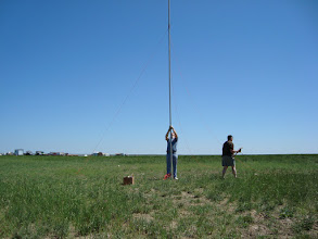 Photo: 40 meter Vertical - FD2009, total contacts 1313