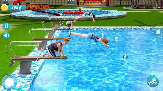 Water Park Racing Kids Aqua Park Water Slide Games 2