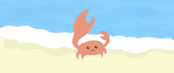 Kawaii crab