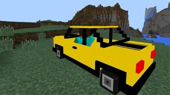 minecraft pe мод на транспорт #7