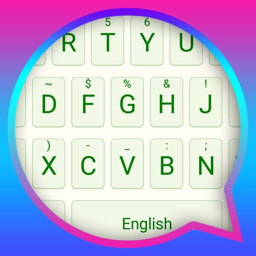Mint Green Theme&Emoji Keyboard