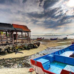 Sunny Morning! by Danny Tan - Transportation Boats