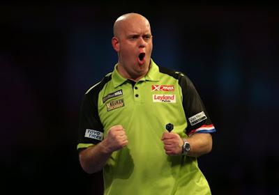 Michael van Gerwen naar halve finales EK Darts na thriller tegen Gerwyn Price, ook andere kwartfinales zijn afgelopen