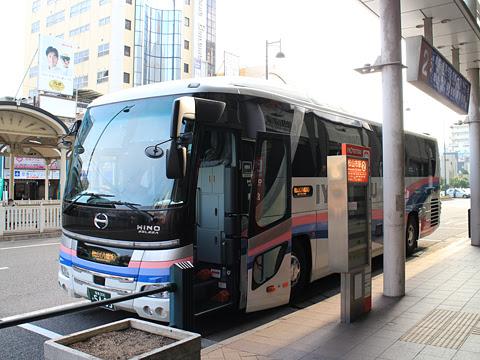 伊予鉄道「オレンジライナー」名古屋線 5409 伊予鉄松山市駅到着 その1