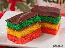 From Mr. Food Rainbow Cookies Recipe