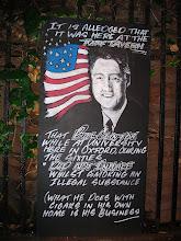 Photo: Turf Tavern - Clinton was here!
