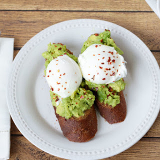 Poached Egg With Avocado Recipes.