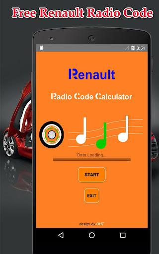 Radio Precode Cal For Renault  screenshots 1