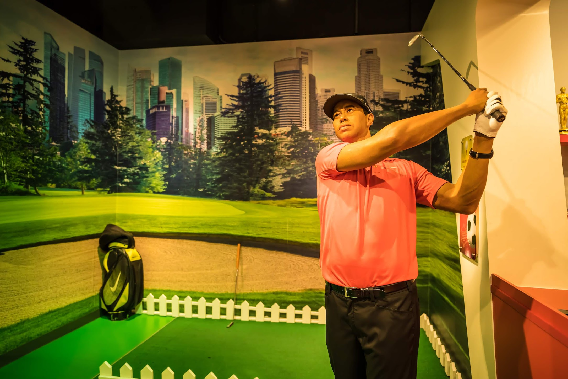 Singapore Sentosa Island Madame Tussauds Singapore Tiger Woods