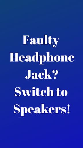 Disable Headphone(Enable Speaker) 1.2 screenshots 1