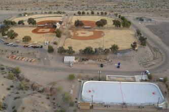 Photo: Baseball fields AND ICE HOCKEY RINK
