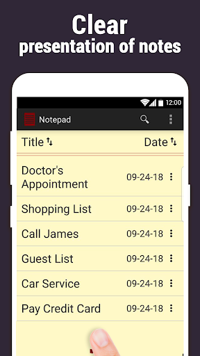 Notepad 2.0.470 screenshots 2