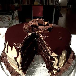 45 Peanut Butter Birthday Cake