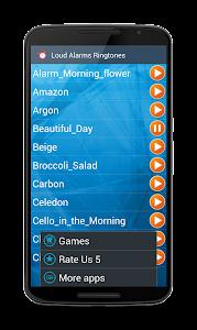 Loud Alarms Sounds Ringtones screenshot 2