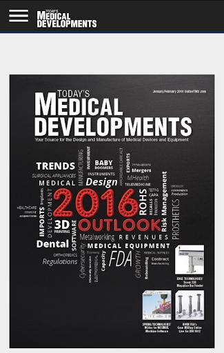 Today's Medical Developments screenshot 1
