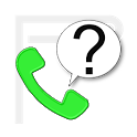 Call? Search and Confirm icon