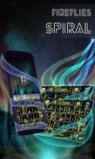玩免費個人化APP|下載螢火蟲螺旋鍵盤 app不用錢|硬是要APP