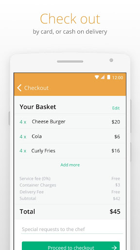 Otlob - Food Delivery 3.6.1 screenshots 4