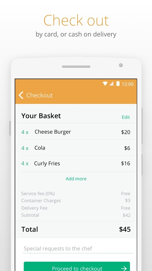 Otlob - Food Delivery – Screenshot