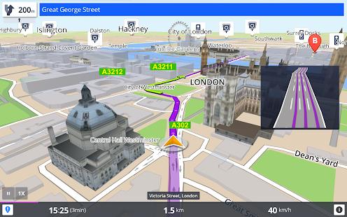 GPS Navigation & Maps Sygic Screenshot 11