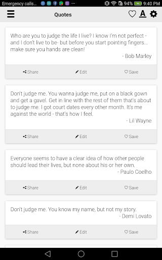 Dont Judge Me Quotes App Report On Mobile Action App Store