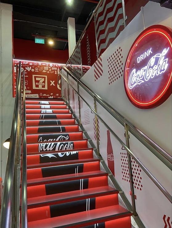 coca cola store in singapore
