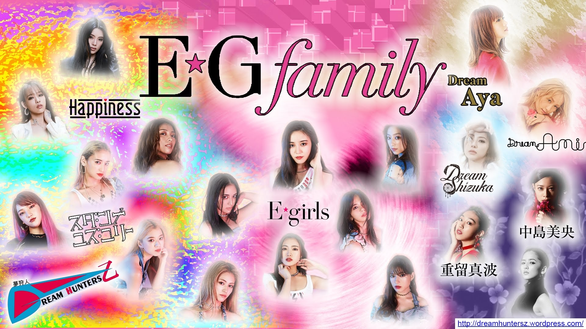 E.G.family montagem feita por mim.