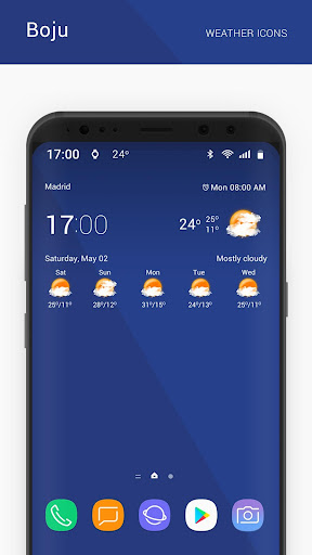 Boju weather icons 1.00.06 screenshots 2