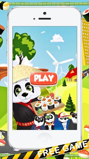 パンダの料理ピザの子供たちのゲーム