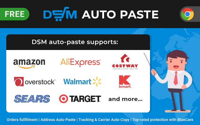 DSM Auto-Paste Chrome Extension