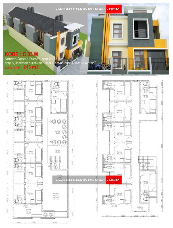 Tags: bangunan komersil , rumah kost , rumah minimalis