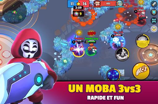 Code Triche Heroes Strike - 3v3Moba & bataille royale APK MOD screenshots 2