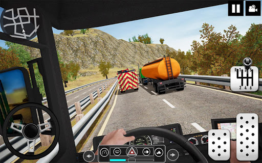 Oil Tanker Truck Driver 3D - Free Truck Games 2020 apktreat screenshots 1