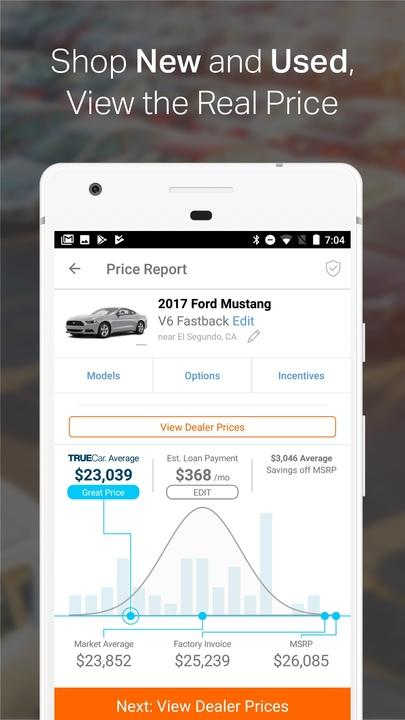 truecar the car buying app find new used cars android apps on google play. Black Bedroom Furniture Sets. Home Design Ideas